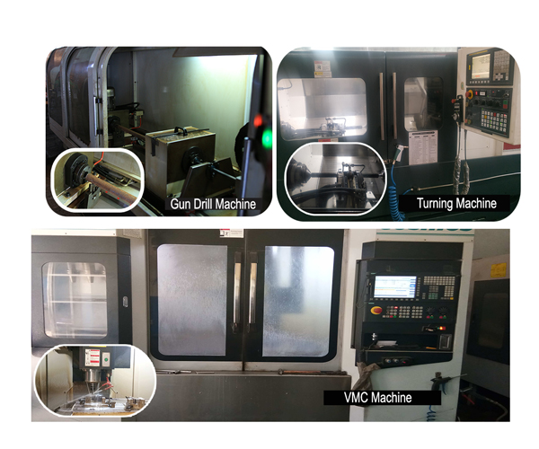 our manufacture machines